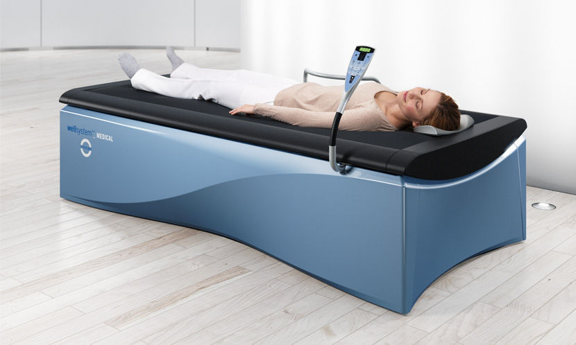 Hydro-jet water massage table  